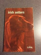 1973 Irish Setters Dog Owner's Guide History Training Illustrated Paperback