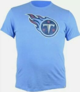 '47 Brand Men's Short-Sleeve Tennessee Titans Logo Scrum T-Shirt