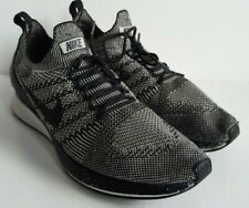 Nike Air Zoom Mariah Flyknit Racer Negro Blanco Zapatillas UK 9 EU 44