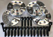 llave 53 mm largo 28 mm M12X1.5 Pernos De Rueda De Rosca Renault 60.1 4S 16 X Sintonizador Negro