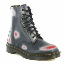 Multi-Coloured 100% Leather Upper Boots for Women