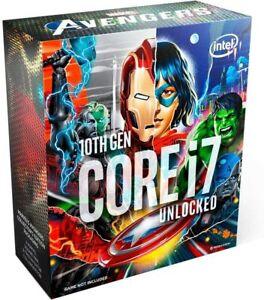 Intel Core i7-10700k SRH72 marvel avangers boxed LGA1200 Prozessor