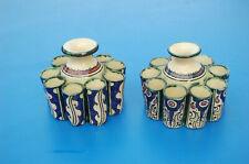 ceramique afrique du nord maroc kabyle berbere enlumineur lot de deux