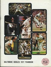 1971 Baltimore Orioles Yearbook - 1970 World Series Championship Brooks Robinson