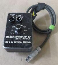 CINEMATOGRAPHY ELECTRONICS HMI & TV CRYSTAL CONTROL ARRI ARRIFLEX CAMERA