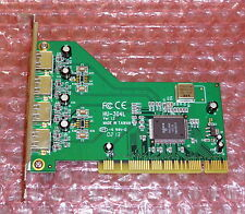 UH-304L: 4-port PCI USB host card