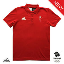 ADIDAS TEAM GB ISSUE UNISEX ELITE ATHLETE ESS PRESENTATION POLO SHIRT Size 38/40