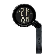 CATEYE QUICK Bike Wireless Computer Speedometer with Speed Sensor&Bracket Black