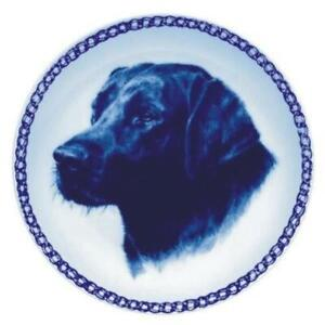 Labrador Retriever - Dog Plate made in Denmark from the finest European Porcelai