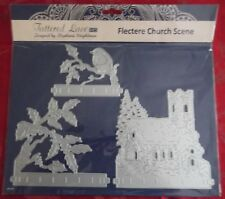 Tattered Lace Flectere Church christmas Scene Die set
