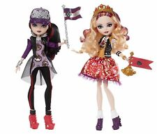 Ever After High School Spirit Apple White & Raven Queen 2PACK - UNOPENED NEW
