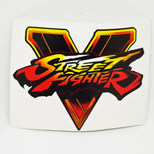 Street Fighter V Logo Sticker Vinyl Decal - NO PC PS4 Video Game of Console