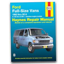 Haynes Repair Manual for 1992-2002 Ford E-150 Econoline - Shop Service bf