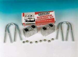 "Grayston Ford 2"" Suspension Lowering Kit Escort/Capri Etc for Road, Race & Rally"
