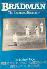 More details for signed sir don bradman book bradman the illustrated biography 1st edition 1983