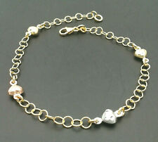 Bracelet Yellow Gold White And Roses' 18 Ct. From GIOIELLERIA AMADIO