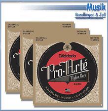 D'Addario Gitarren- & Bass-Saiten für Klassikgitarren