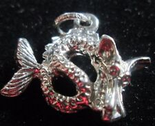 VINTAGE STERLING SILVER WATER DRAGON CHARM