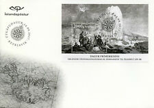 Iceland 2017 FDC Day of Stamps 250 Years of Exploration Expedition 1v M/S Cover