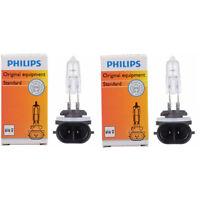Two Philips Standard Halogen Fog Light Bulb 886C1 for 886 12.8V 50W PGJ13 rv