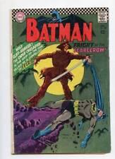 Batman #189 (VG-) 1st Appearance Silver Age Scarecrow D.C. Comics 1967