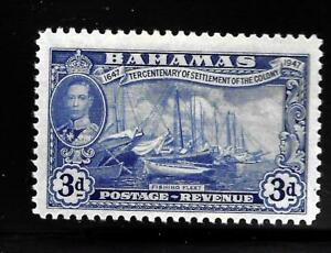 HICK GIRL-OLD MINT BAHAMAS  SC#137  KING GEORGE VI.  ISSUE 1948    X1496