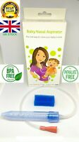 Nasal Aspirator Baby Runny Nose CLEANER (like Frida) Mucus Remover Fast Delivery