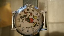 The Most Collectable Vintage Bradley Time Pie Eye Mickey Mouse Watch 1970s
