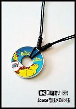 Collar Ajustable Unisex Yellow Submarine The Beatles Submarino Amarillo Colgante