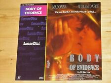 Laserdisc Body Of Evidence
