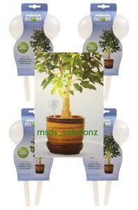 8 x AQUA GLOBES AUTOMATIC WATERING BULBS HOUSE HANGING PATIO PLANTS ROOTS/SOIL