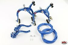 MX120 Genuine Dia-Compe MX1000 Dark Blue Brake /& Seat Clamp Set