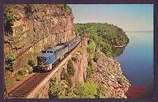 LMH Postcard DELAWARE HUDSON PA D&H RED ROCK CLIFFS Willsboro Bay LAURENTIAN '69