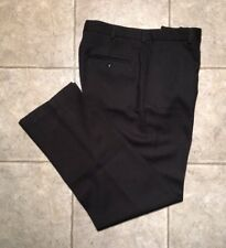 KENNETH COLE REACTION * Mens Black Casual Pants * Size 32 x 32 * EXCELLENT
