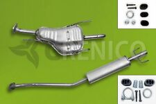 Komplette Auspuffanlage ab Kat  + Montagesatz OPEL ASTRA G 1.4 1.6 Caravan 98-00