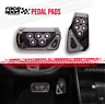 Sports Racing Accelerator Car GRAY Brake Pad Pedals Covers Universal Automatic