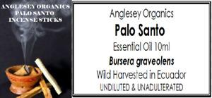 PALO SANTO ESSENTIAL OIL (WILD HARVESTED) 5ML & 10ML SIZES