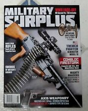 MILITARY SURPLUS Magazine 2017 Issue 188 AXIS WEAPONRY Gatling Gun LEGACY Swords