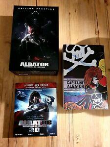 Albator Edition Prestige Limitée et numérotée Blu-ray+Intégrale du Manga