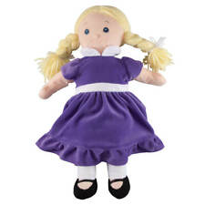 Big Sister Doll with Birthstone Color Dress, June, Purple, Small