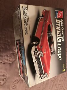 1/25th Scale AMT 1958 Chevrolet Impala model Kit.