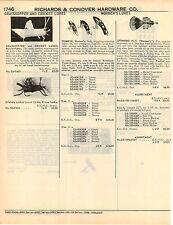 1951 ADVERT Worden's Fishing Lure Lures Humbug Glen L Evans Joe's Sure Fire Grub