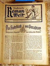Helene Courths-Mahler-2 Erstabdrucke 1929/30 in Roman-Welt-sehr selten !!!!