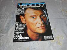 "Johnny Hallyday  Magazine ""Vidéo7""  1993"
