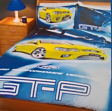 ~ Ford FPV GT-P DOONA SINGLE BED QUILT COVER SET Falcon Citric Acid *Few Left*