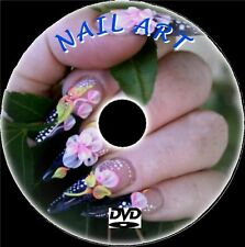 HOW TO CREATE GREAT NAILS VIDEO DVD NAIL ART DESIGN CARE & MANICURE TRAINING NEW