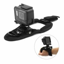 360° Rotate Glove Hand Palm Back Arm Wrist Strap Mount for GoPro Hero 7 6 5 4 3