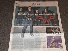 Scott Shriner Weezer Hometown Story w/yearbook photo Toledo Ohio Blade Newspaper