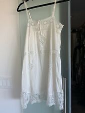Spell & the Gypsy Collective Peaches Mini Dress, White Sz Small