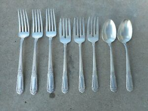 ANTIQUE STATE HOUSE STERLING SILVERWARE